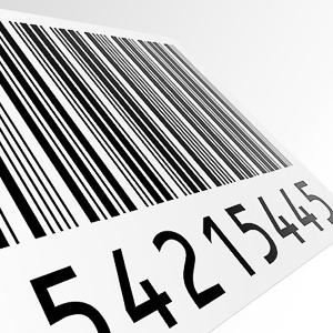 picture of variable numbered labels and/or barcode
